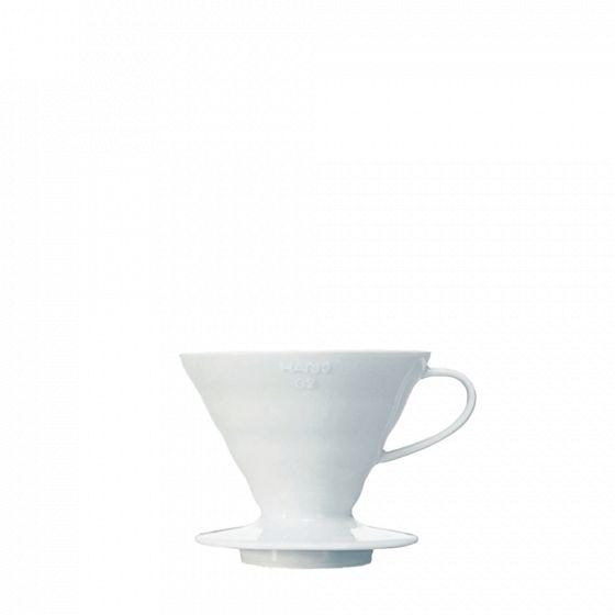 V60 dripper Hario porcelain [3/4  cups] - White