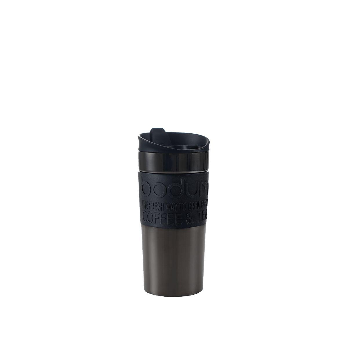 Travel Mug Doppelwandig: Bodum® Travel Mug - Anthrazit