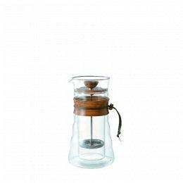 Cafetière à piston Hario double paroi en verre 400ml