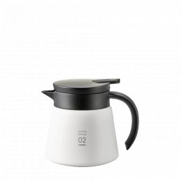 Carafe isotherme Hario V60 75cl Blanche
