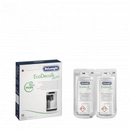 DeLonghi EcoDecalk descaler for automatic machines - 2 x 100ml
