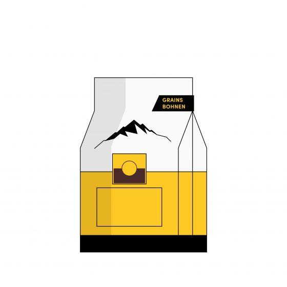 Kaffee ganze Bohne BIO La Semeuse Altitude - Äthiopien • Kolumbien • Honduras