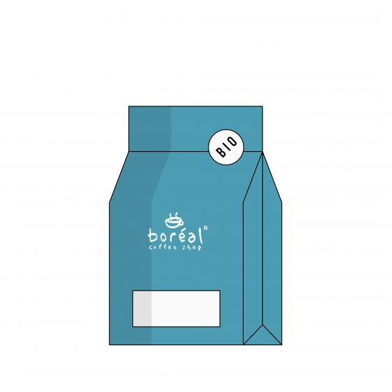 ORGANIC Whole Coffee Beans Boréal Colombia Fondo Paez [Filter]