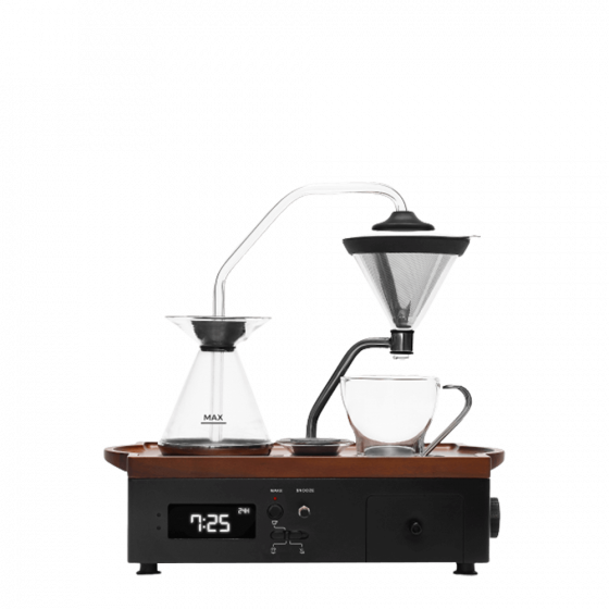 Barisieur coffee arlarm clock black - Joy Resolve