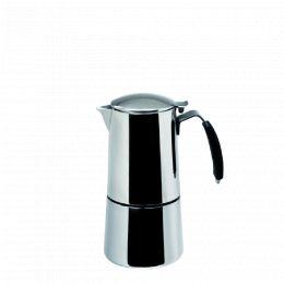 Induction Espressokocher «Omnia» Edelstahl  – 15cl