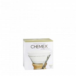 Box of 100 filters for CHEMEX 6 to 10 cups (rounded)