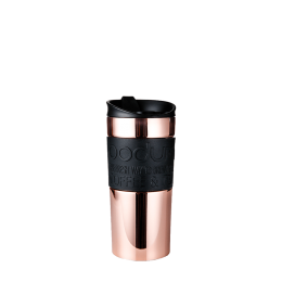Travel Mug Doppelwandig: Bodum® Travel Mug - Kupfer