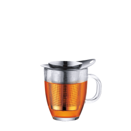 infuser mug bodum with stainless filter