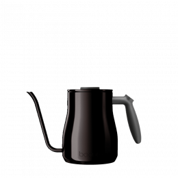 Gooseneck water kettle black