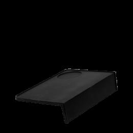 tapis de tassage rectangulaire noir