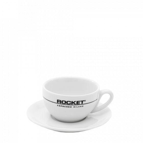 cappucino cups set Rocket Espresso white