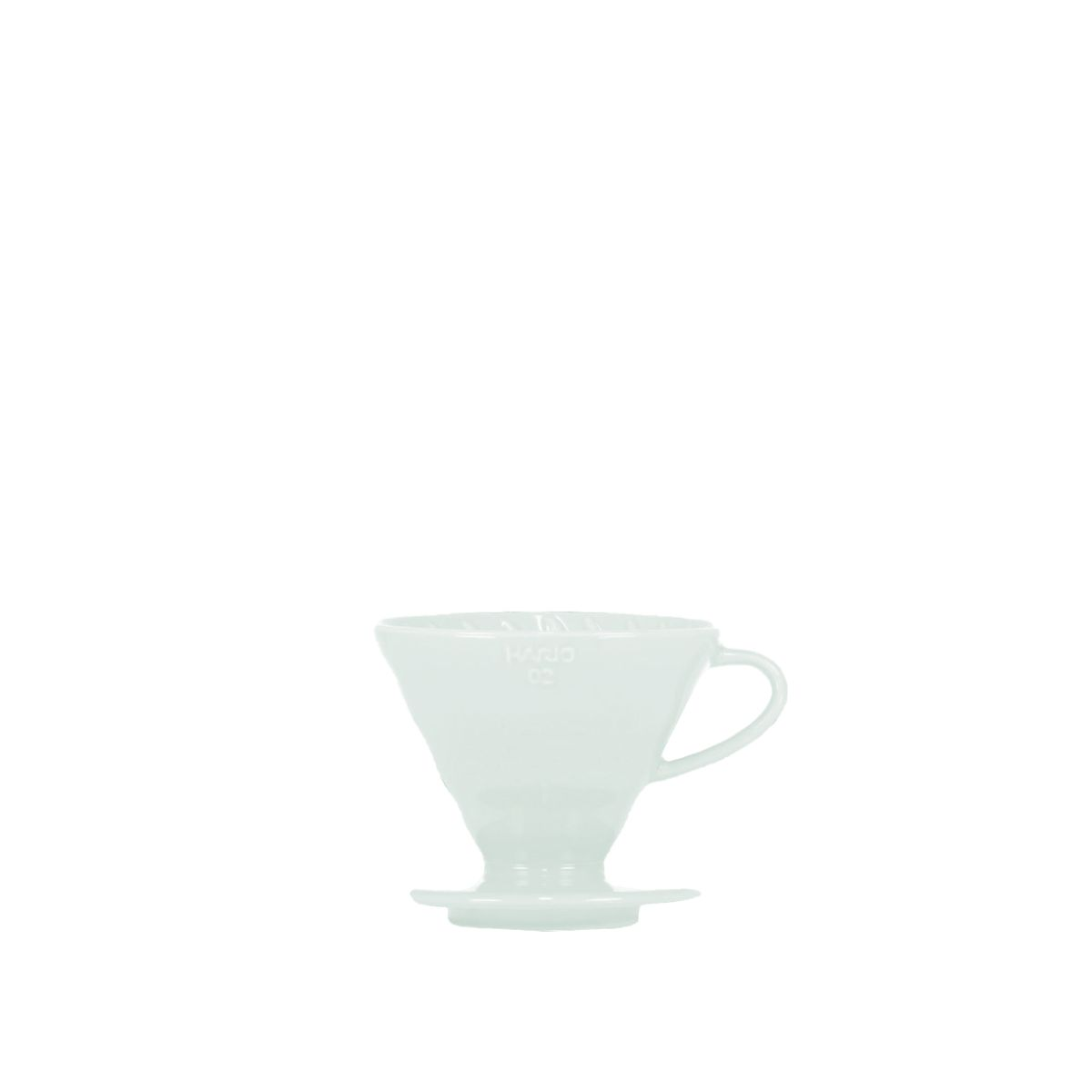 V60 Porcelain Dripper Hario [3/4 cups] - Light blue
