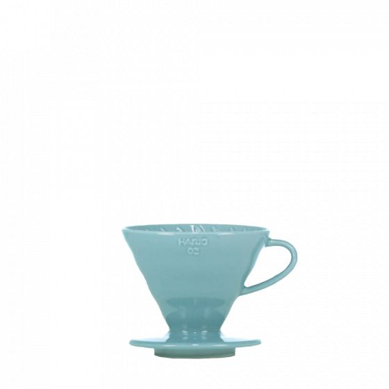 V60 dripper Hario porcelain [3/4 cups] -Turquoise blue