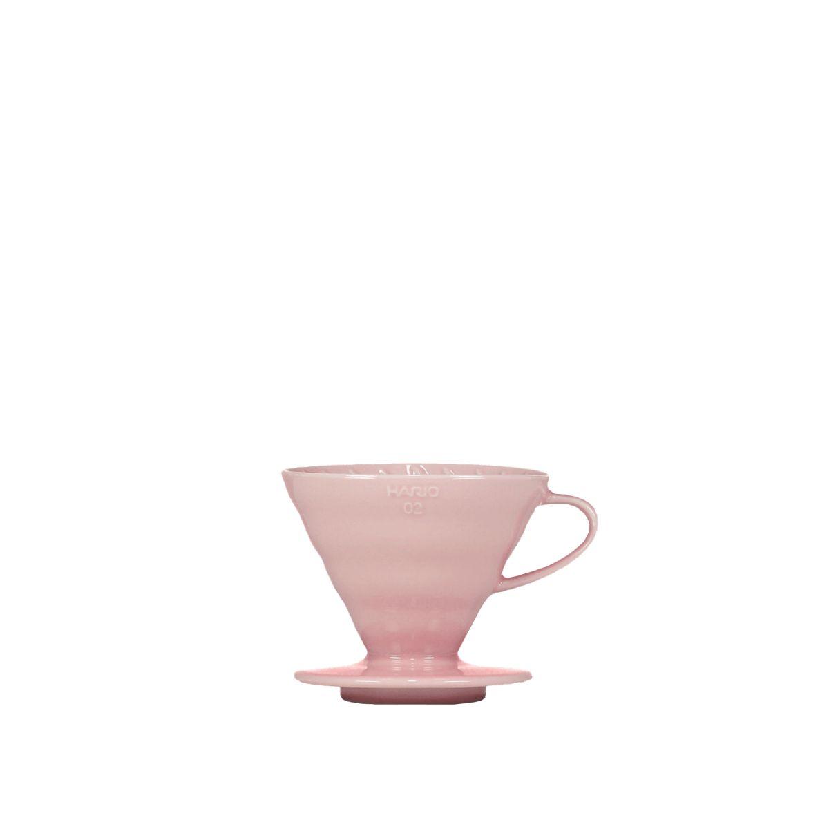 V60 Dripper Hario Porzellan [3/4 Tassen] - Rosa