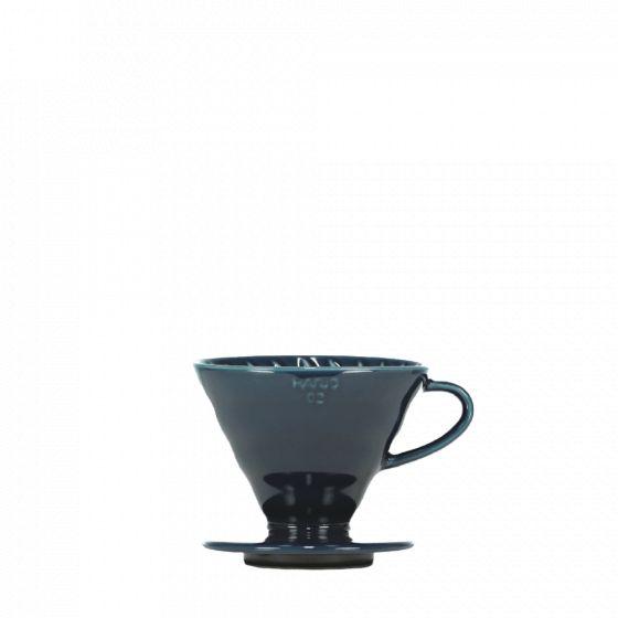 V60 dripper Hario porcelain [3/4 cups] - Indigo blue