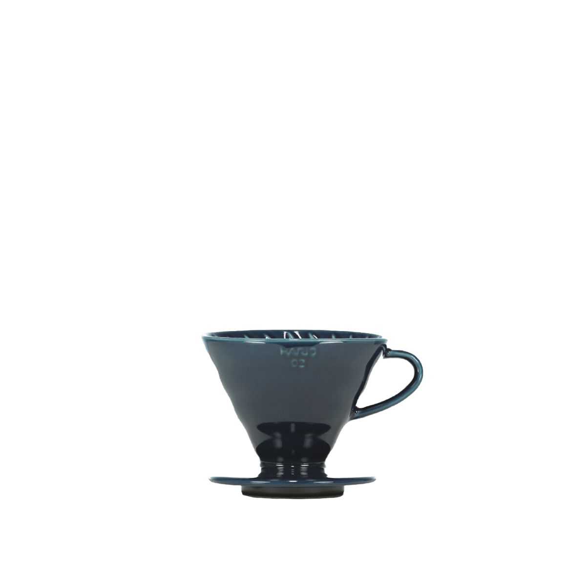 V60 Porcelain Dripper Hario [3/4 cups] - Indigo blue