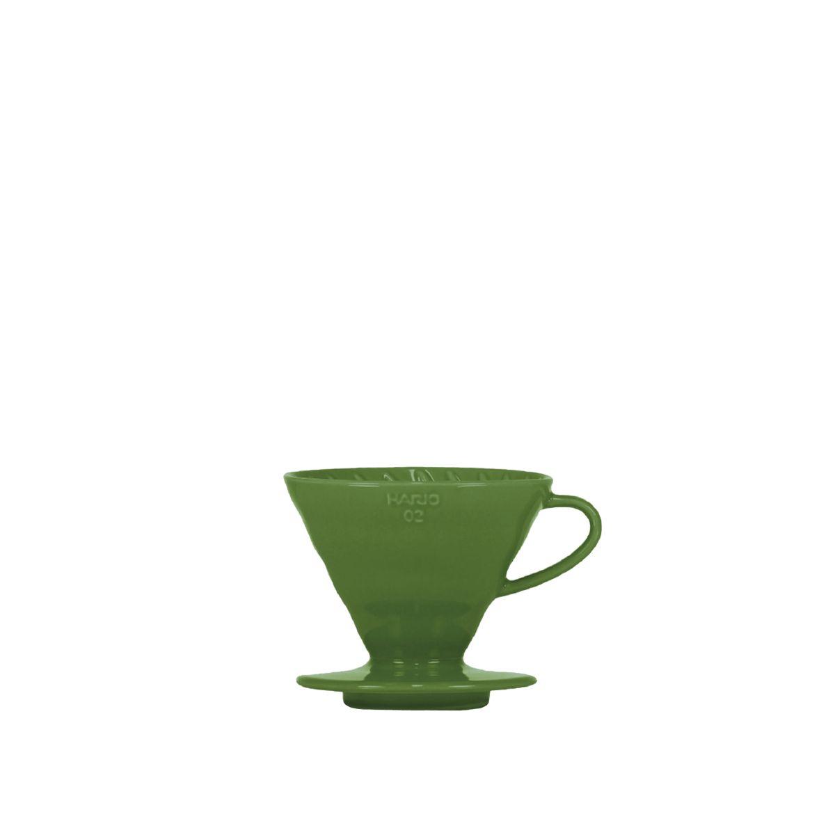 V60 Porcelain Dripper Hario [3/4 cups] - Khaki