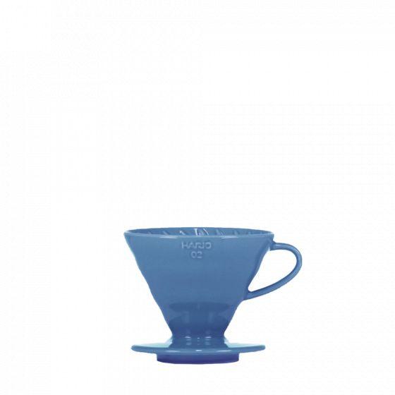 V60 dripper Hario porcelain [3/4 cups] - Blue