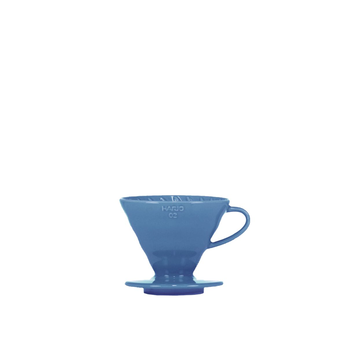 V60 Porcelain Dripper Hario [3/4 cups] - Blue