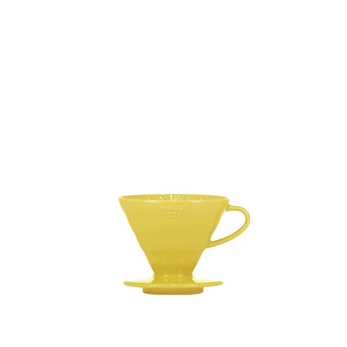V60 Porcelain Dripper Hario [3/4 cups] - Yellow