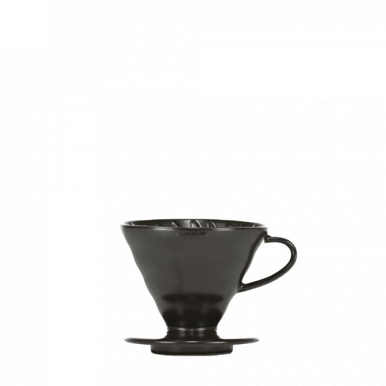 V60 dripper Hario porcelaine [3/4 cups] - Matt Black