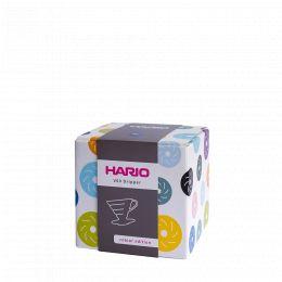 V60 Dripper Hario Porzellan [3/4 Tassen] - Mattschwarz
